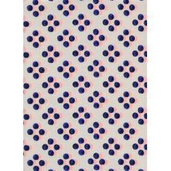 M0024-011 Picnic - Sunday Dress - Navy Lawn Fabric