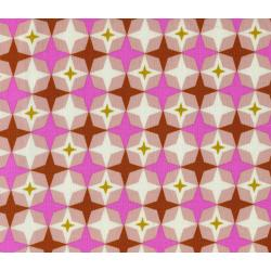 M0013-001 Playful - Bowling Alley - Pink Fabric