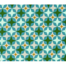 M0013-002 Playful - Bowling Alley - Aqua Fabric