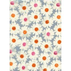 M0040-013 Trinket - Happy Garden - Frost Double Gauze Fabric