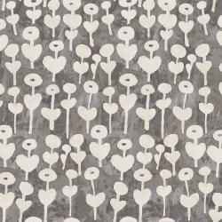 OE101-GY4 Once Upon a Time - Love Flower - Gray Fabric