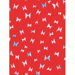 OE104-RE2 Once Upon a Time - Flying Ribbon - Red Fabric