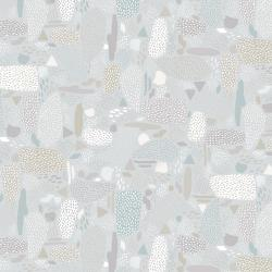 PK105-GY5 Girl's Club - Pebbles - Gray Fabric