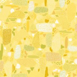 PK105-YE2 Girl's Club - Pebbles - Yellow Fabric