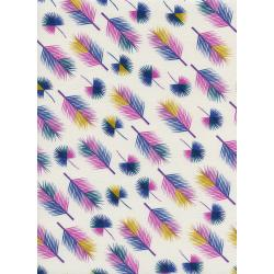 R1958-001 Lagoon - Unbeleafable - Grapes Fabric