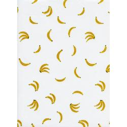 R1961-011 Lagoon - Nanners - Yellow Lawn Fabric