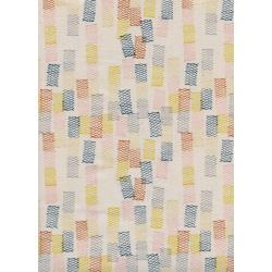 R1967-001 Paper Cuts - Toami - Sunshine Unbleached Cotton Fabric