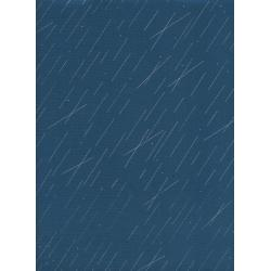 R1939-001 Raindrop - Precipitation - Teal Metallic Fabric