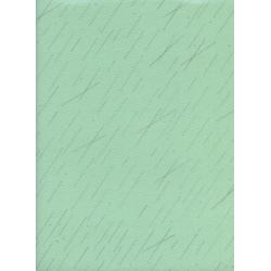 R1939-002 Raindrop - Precipitation - Pistachio Metallic Fabric