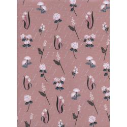 R1940-002 Raindrop - In Bloom - Dusk Fabric
