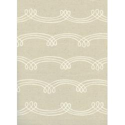 R1923-002 Zephyr - Whirl Wind - Dust Unbleached Cotton Fabric