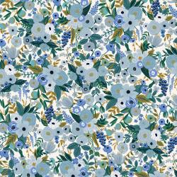 RP104-BL5 Garden Party - Petite Garden Party - Blue Fabric