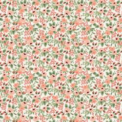 RP305-RO6 Garden Party - Rosa - Rose Fabric