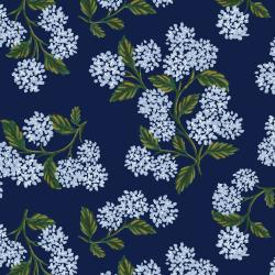 RP201-NA7K Meadow - Hydrangea - Navy Knit Fabric