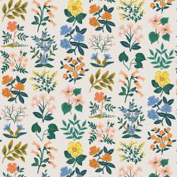 RP202-CR1L Meadow - Wildflower Field - Cream Lawn Fabric