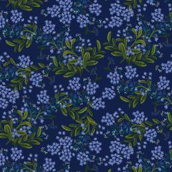 RP203-NA3R Meadow - Cornflower - Navy Rayon Fabric (RP203-BL3R)