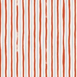 RP207-RE3 Meadow - Stripes - Red Fabric