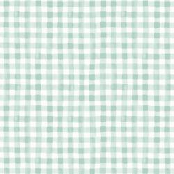 RP208-MI3 Meadow - Painted Gingham - Mint Fabric