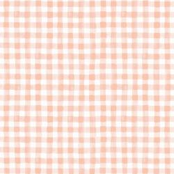 RP208-PI2 Meadow - Painted Gingham - Pink Fabric