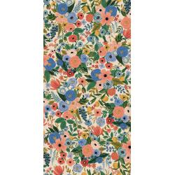RP100-BL4C Wildwood - Garden Party - Blue Canvas Fabric