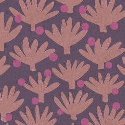 SA100-HA5UC Find Me In Ibiza - Flamenco - Haze Unbleached Canvas Fabric