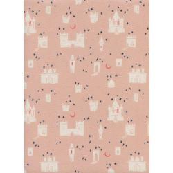 S2035-002 From Porto With Love - Evora - Pink Unbleached Cotton Fabric