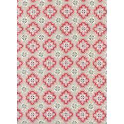 S2020-001 Honeymoon - Porch Tile - Coral Fabric