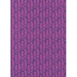 S2021-002 Honeymoon - Palm - Purple Fabric
