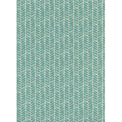 S2021-003 Honeymoon - Palm - Dusty Blue Fabric