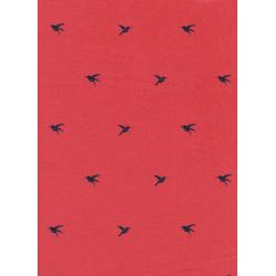 S2023-002 Honeymoon - Colibri - Coral Fabric