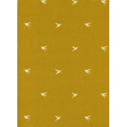 S2023-003 Honeymoon - Colibri - Citron Fabric