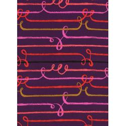 S2024-035 Honeymoon - Zipline - Purple Rayon Fabric