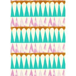 S2063-002 Santa Fe - Drums - Pink Fabric