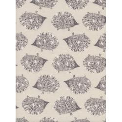 S2046-001 Sleep Tight - Prickles - Neutral Unbleached Cotton White Pigment Fabric