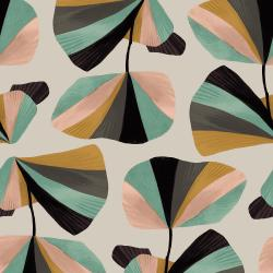 ST100-SE2 In Bloom - In Bloom - Seafoam Fabric