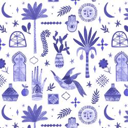 TG100-MV2 Marbella - Moroccan Nights - Majestic Violet Fabric