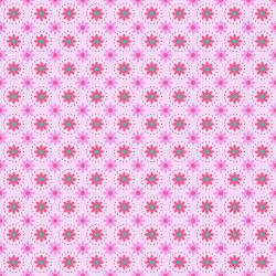 TB103-LM3 From the Desk of... - Daisies in Circles - Light Magenta Fabric