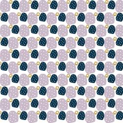 VB101-DG4M Mountains, Rocks, and Pebbles - Sweet Pebbles - Delightfully Golden Metallic Fabric