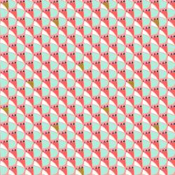 VB103-DP2M Mountains, Rocks, and Pebbles - Mountian Dog - Dusk Pink Metallic Fabric