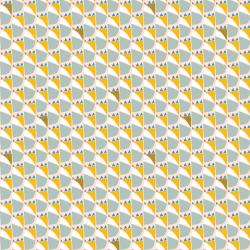 VB103-SD1M Mountains, Rocks, and Pebbles - Mountian Dog - Sunny Days Metallic Fabric