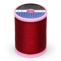 753-0169 Cabernet Red 50 Wt. Cotton Thread Spool