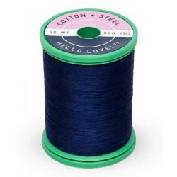 753-0505 Deep Arctic Sky 50 Wt. Cotton Thread Spool