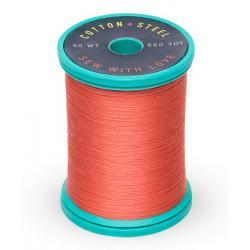 753-1020 Dark Peach 50 Wt. Cotton Thread Spool