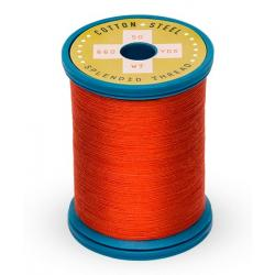 753-1037 Light Red 50 Wt. Cotton Thread Spool