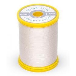 753-1071 Off White 50 Wt. Cotton Thread Spool