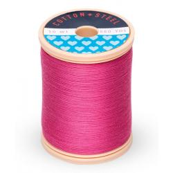 753-1109 Hot Pink 50 Wt. Cotton Thread Spool