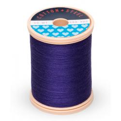 753-1112 Royal Purple 50 Wt. Cotton Thread Spool