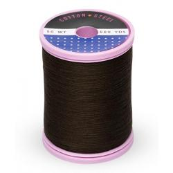 753-1131 Cloister Brown 50 Wt. Cotton Thread Spool