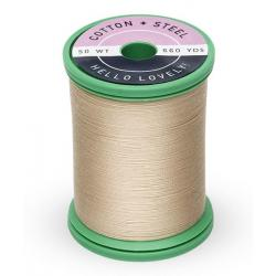 753-1149 Deep Ecru 50 Wt. Cotton Thread Spool