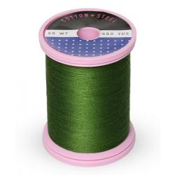 753-1176 Medium Dark Avocado 50 Wt. Cotton Thread Spool